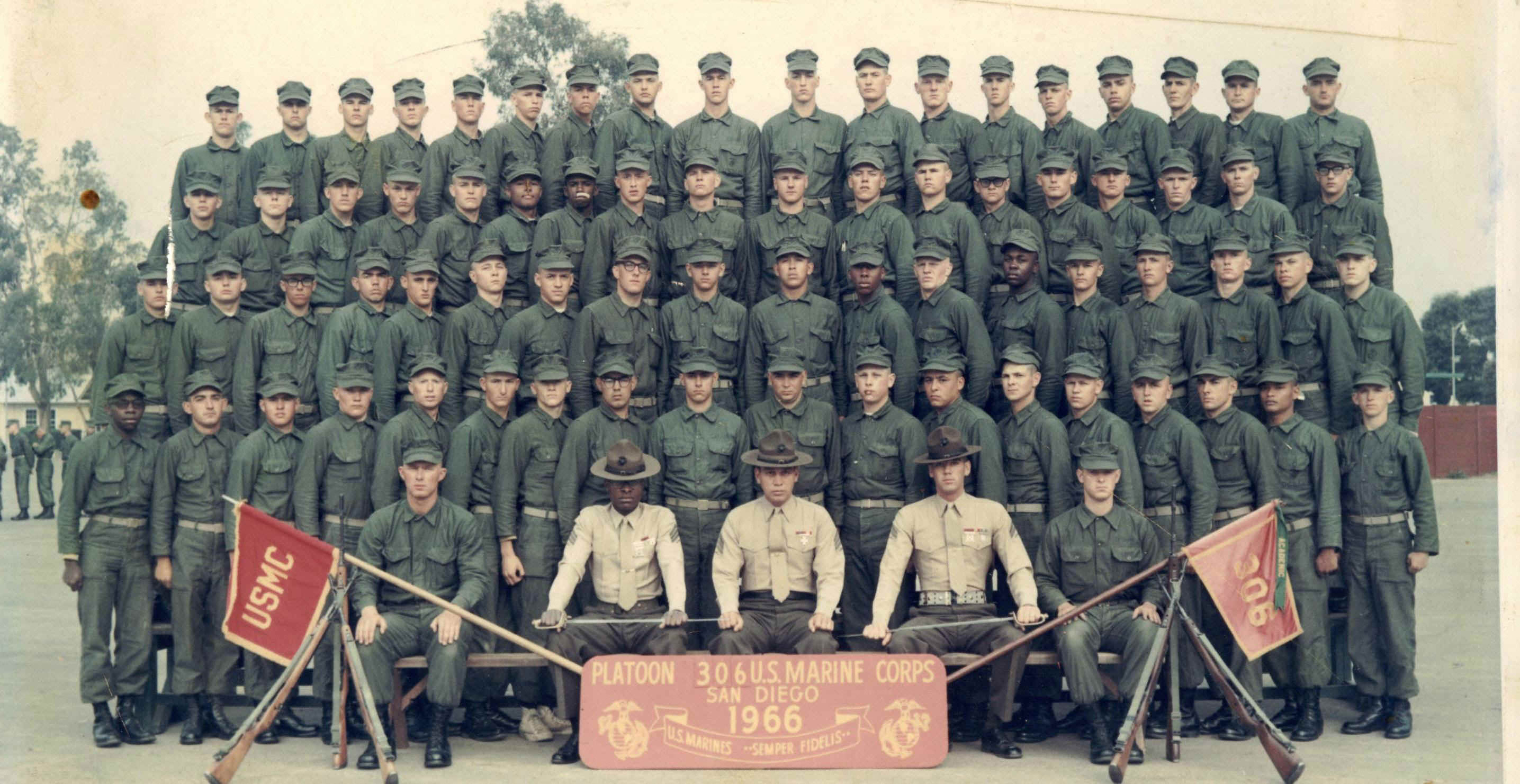 One of Lee's Platoon's, Platoon 306 - 1966